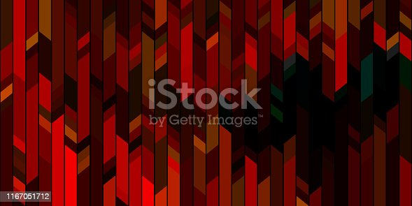 Colorfull red background