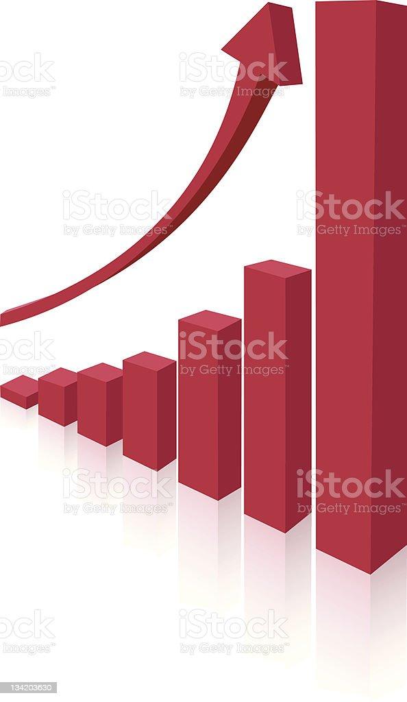 red column royalty-free stock vector art