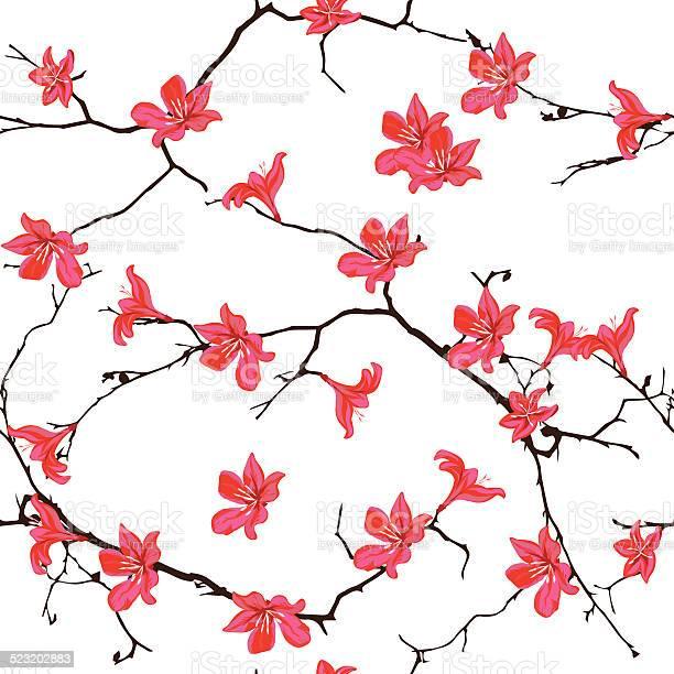 Red cotton tree chinese seamless vector print vector id523202883?b=1&k=6&m=523202883&s=612x612&h=fm2utn2o9rywffc0 wa7dwrmamrd5jpebwl2gia3q a=