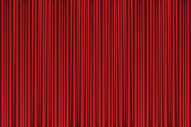 roter vorhang - plüsch stock-grafiken, -clipart, -cartoons und -symbole