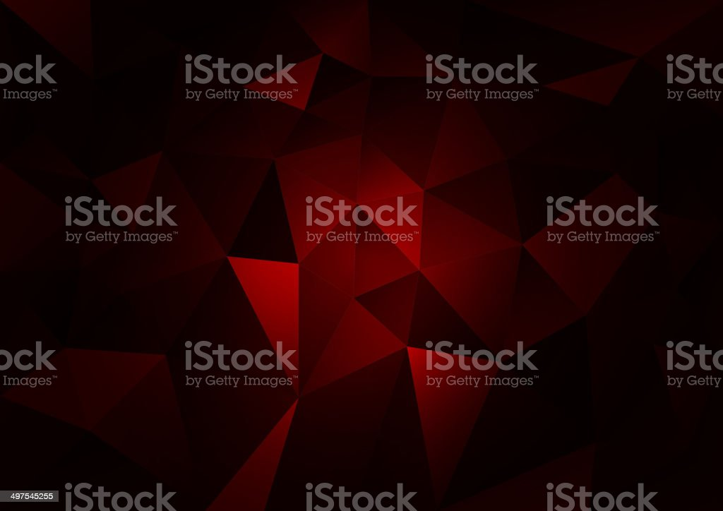 Red Dark vector art illustration