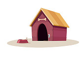 Red dog house