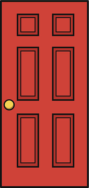 Top 60 Red Front Door Clip Art Vector Graphics And