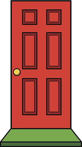 Top 60 Red Front Door Clip Art Vector Graphics and