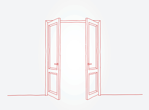 Red doors contour