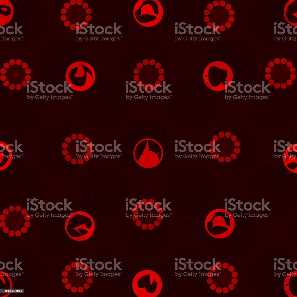 red dot sign pattern background royalty-free red dot sign pattern background stock vector art & more images of abstract