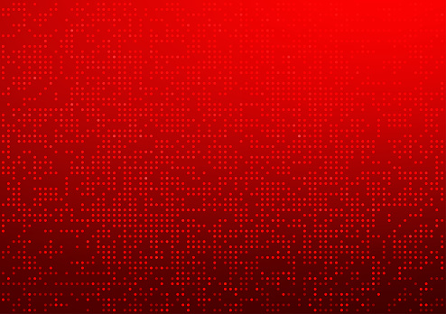 Red dots color vector background