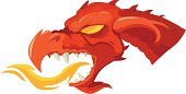 head of the red dragon