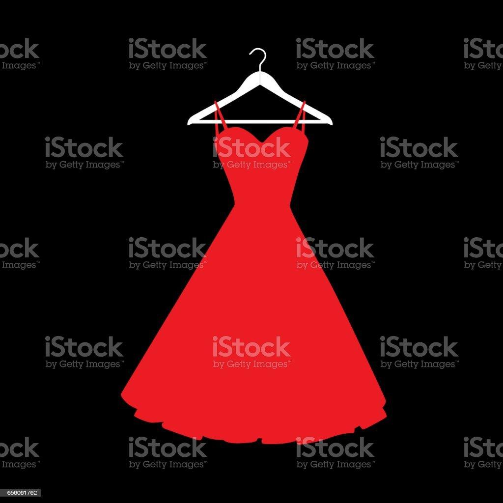 Silver Party Dress Clip Art