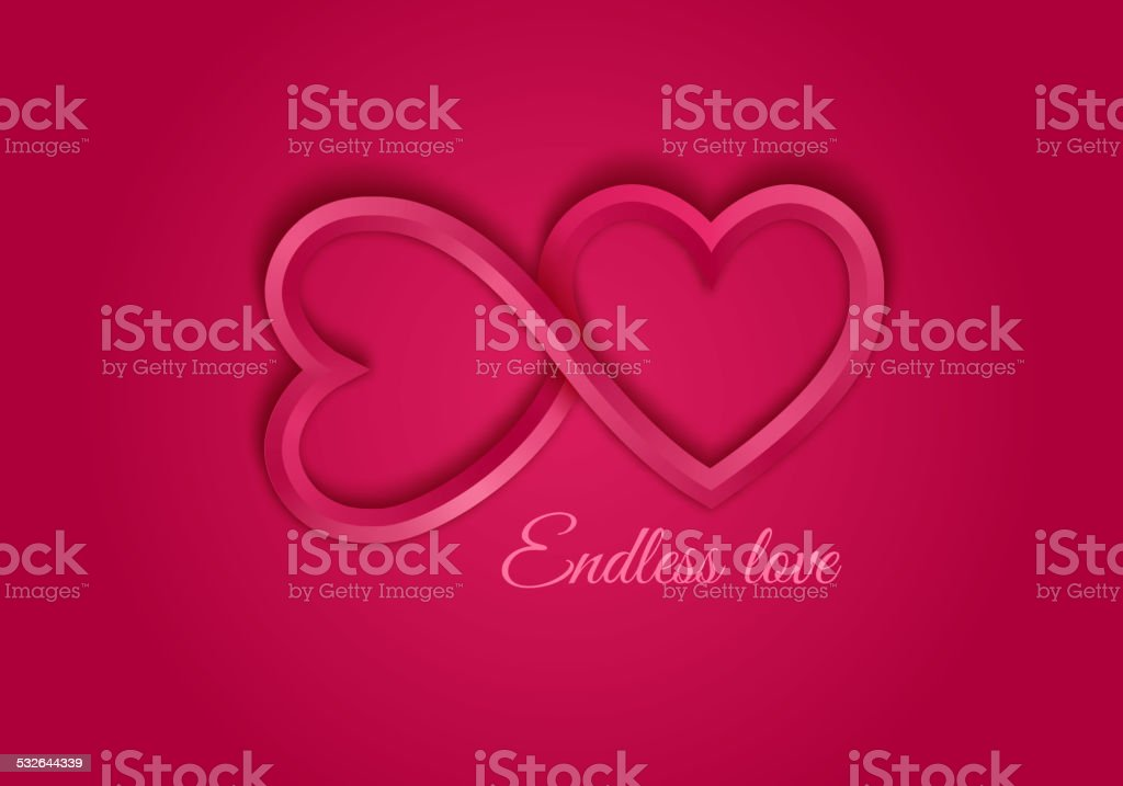 Red Endless Love Symbol Stock Vector Art More Images Of 2015
