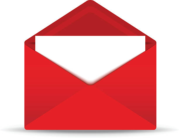 Royalty Free Open Envelope Clip Art, Vector Images