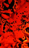 Red fire grunge effect background