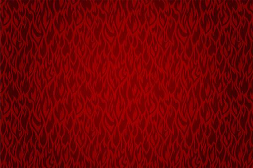 Red fire pattern