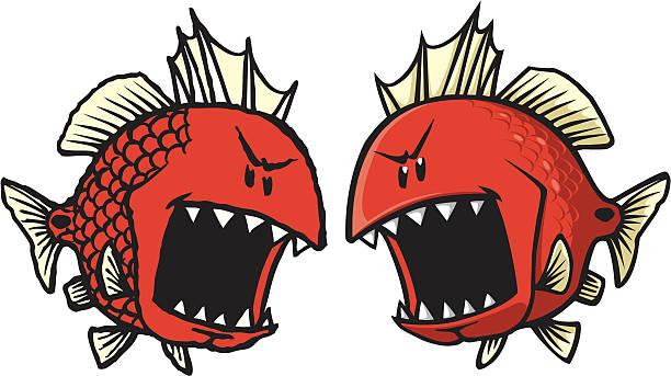 red fish - redfish stock illustrations, clip art, cartoons, & icons