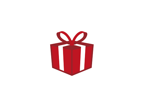 Red Gift Box And Surprise For Logo Design Illustration Stock Illustration Download Image Now Istock