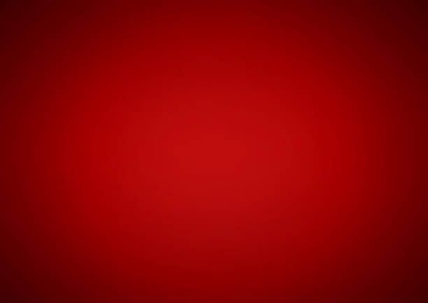 Red gradient background vector art illustration