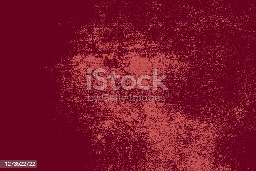 Grunge Red Square Texture For your Design. Empty expressive Distressed Background. EPs10 vector