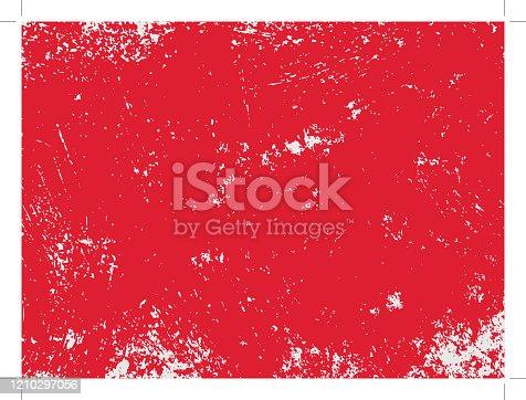istock Red grunge texture 1210297056