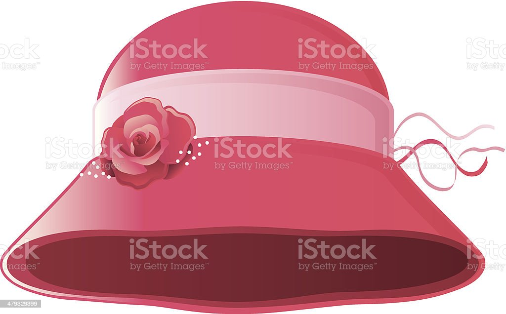 Red Hat Society royalty-free stock vector art