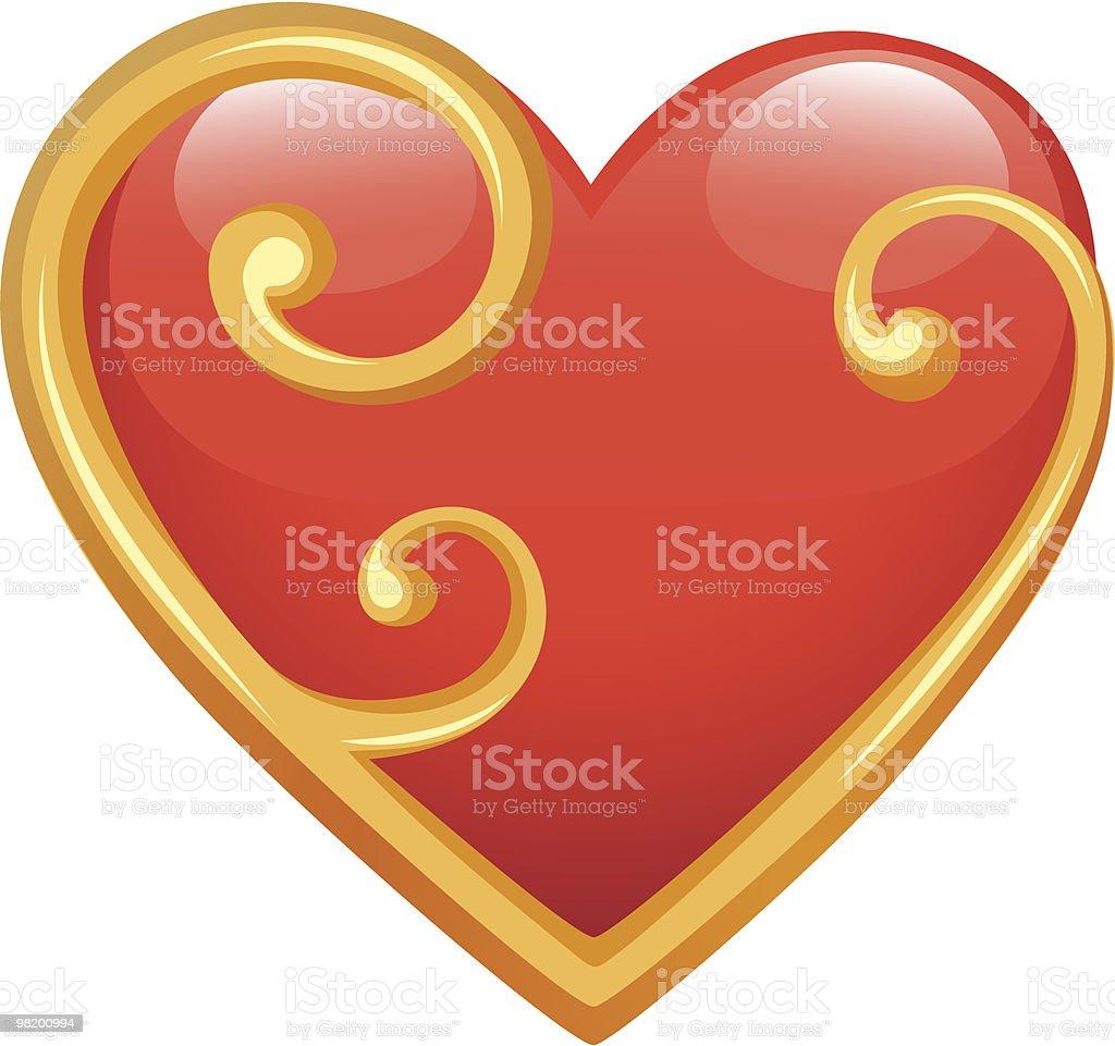 붉은 heart 프레임 royalty-free 붉은 heart 프레임 0명에 대한 스톡 벡터 아트 및 기타 이미지