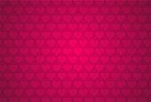 Red heart shape pattern