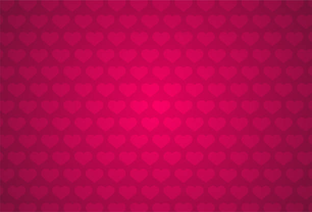 ilustrações de stock, clip art, desenhos animados e ícones de red heart shape pattern - vr red background