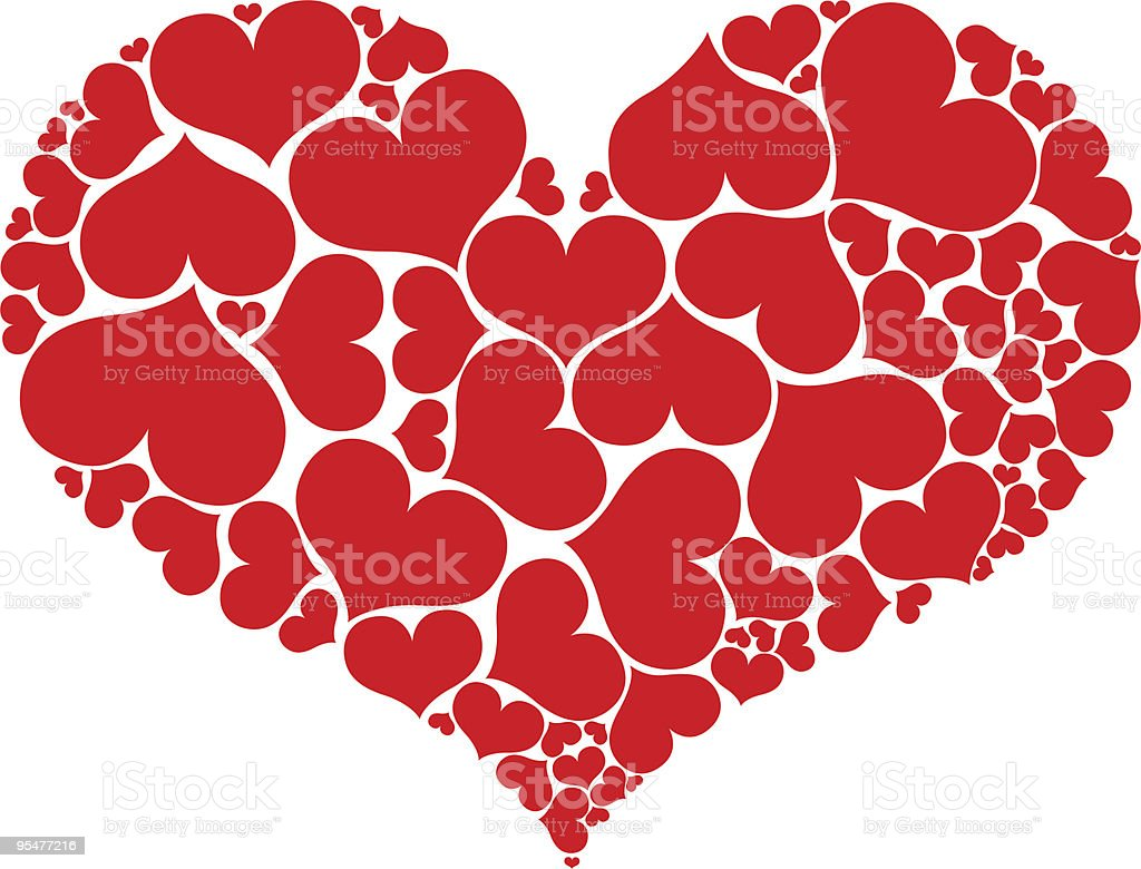 Red heart shape royalty-free red heart shape stock vector art & more images of color image