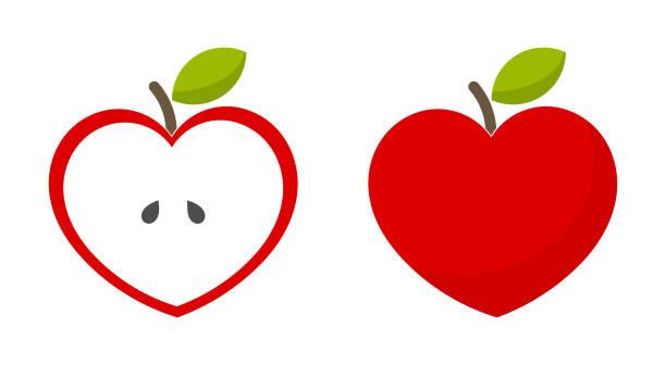 Download Royalty Free Apple Cut Half Clip Art Clip Art, Vector ...