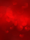 Valentine's day background with hearts. EPS10