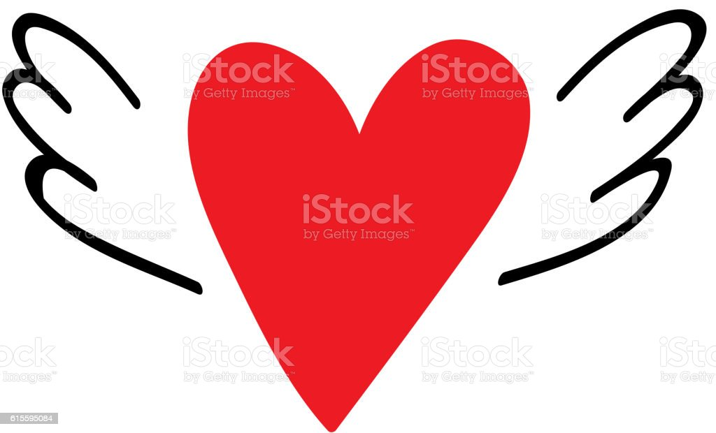 Red Heart Vector Icon Stockvectorkunst En Meer Beelden Van Abstract