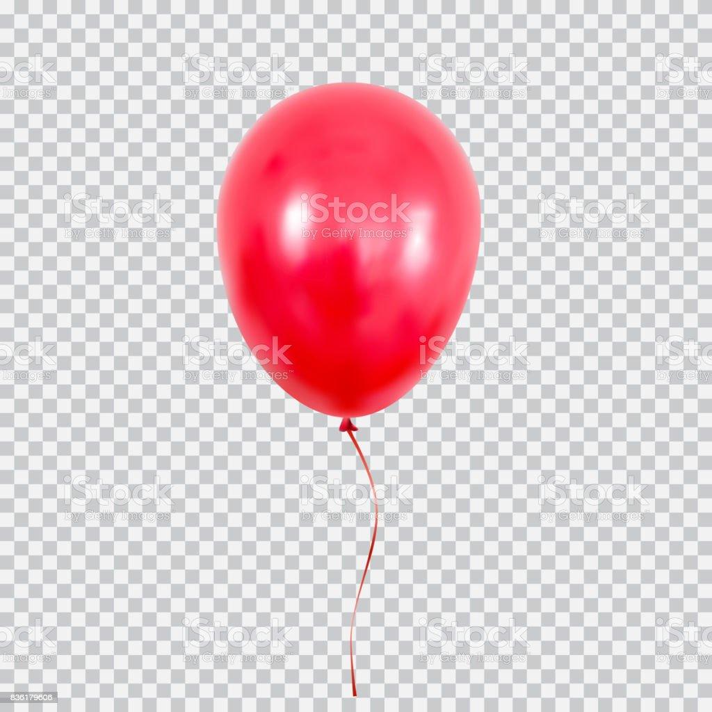 Pennywise Hintergrund: 透明な背景で隔離赤いヘリウム気球 - 3Dのベクターアート素材や画像を多数ご用意