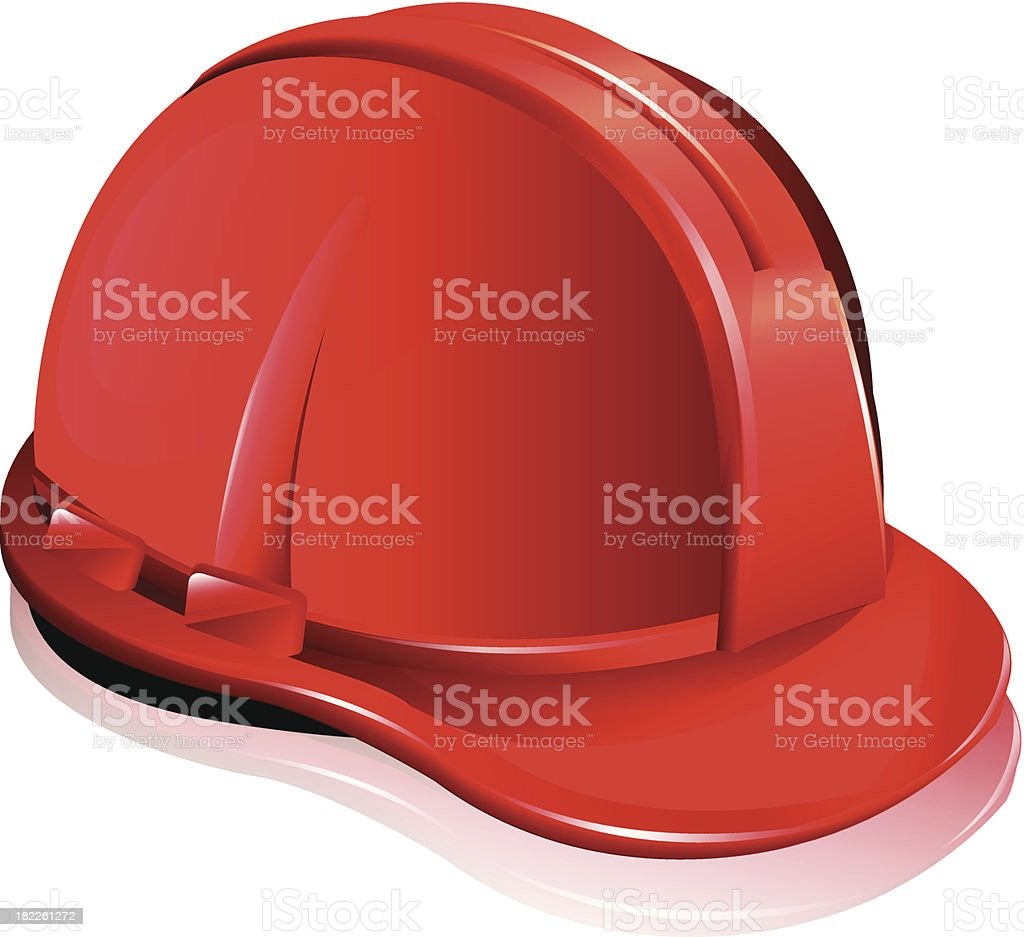 Red Helmet royalty-free red helmet stock vector art & more images of architect