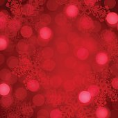 Red holiday background abstract. EPS 10 file. Transparency effects used on highlight elements.