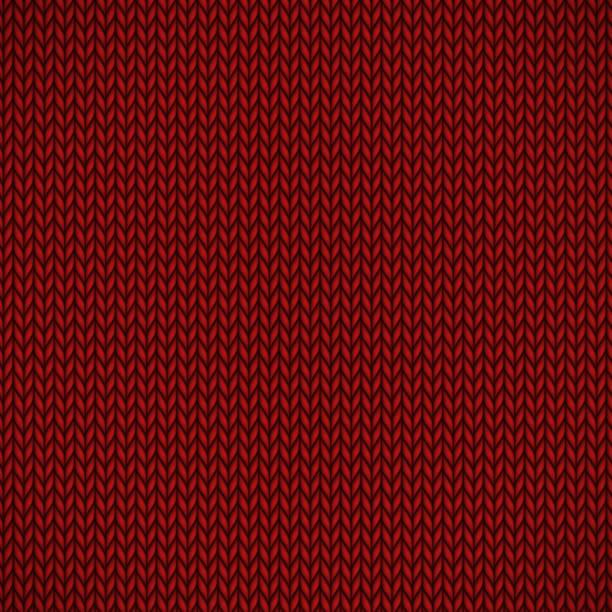 roten strick jersey - wollteppich stock-grafiken, -clipart, -cartoons und -symbole