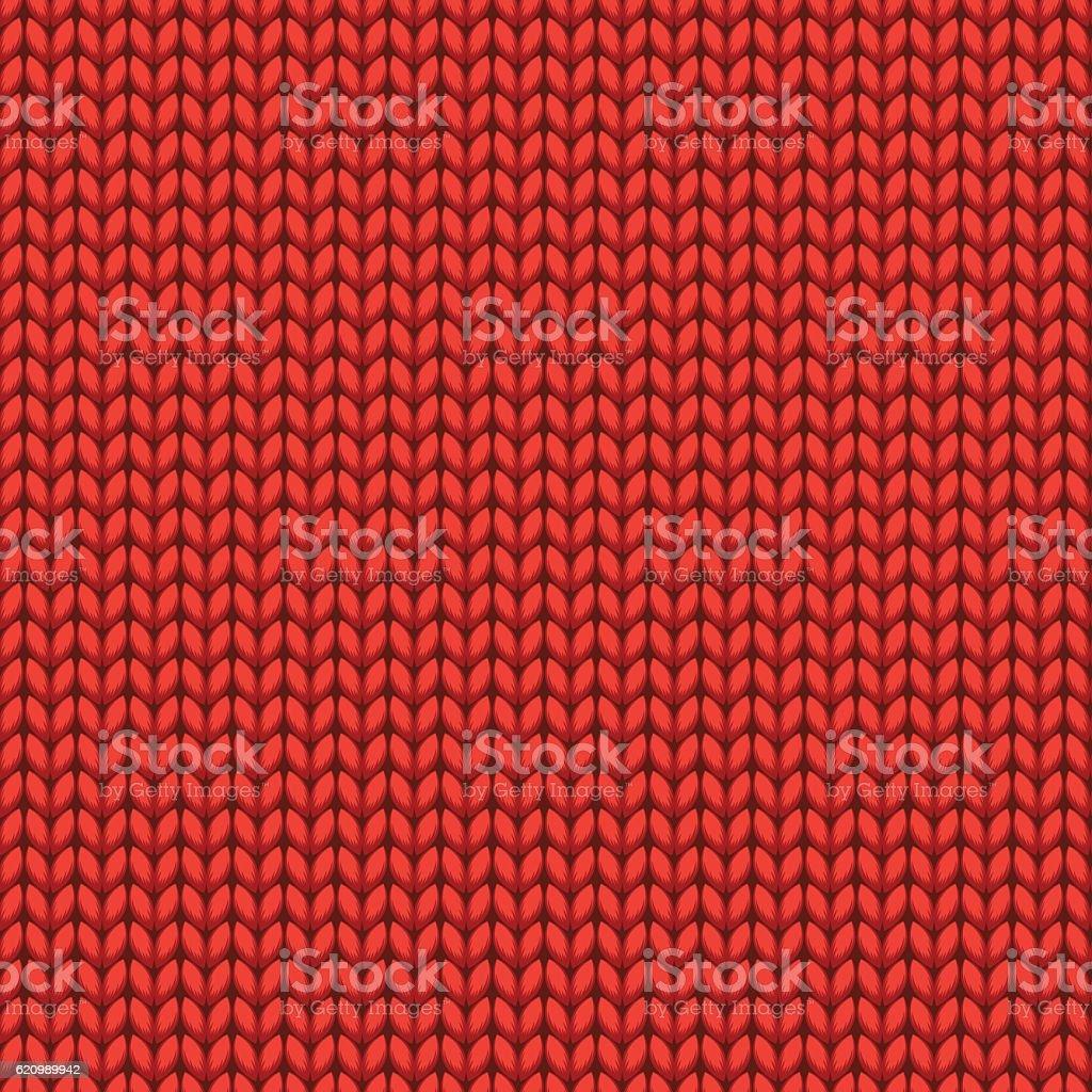 Red Knitted Sweater Material Seamless Pattern ilustração de red knitted sweater material seamless pattern e mais banco de imagens de arte, cultura e espetáculo royalty-free