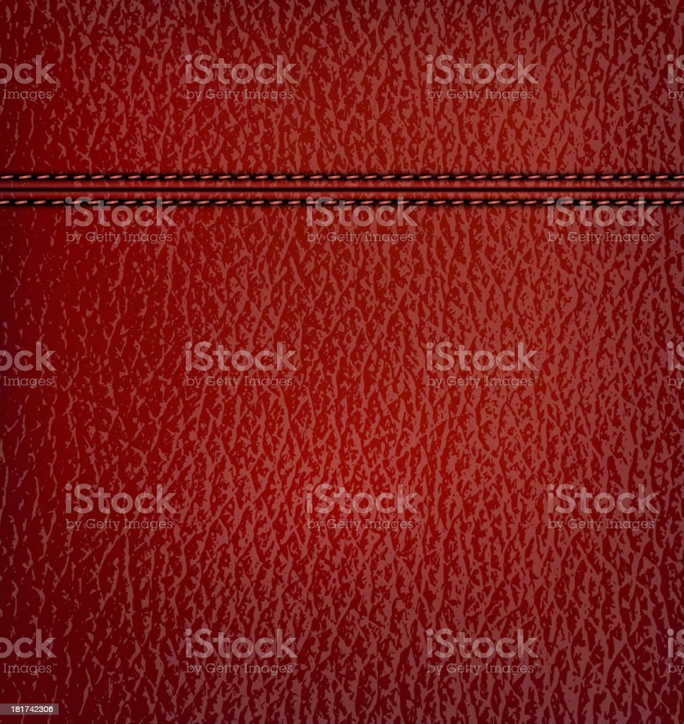 Red leather background. Vector illustration. royalty-free red leather background vector illustration stock vector art & more images of abstract