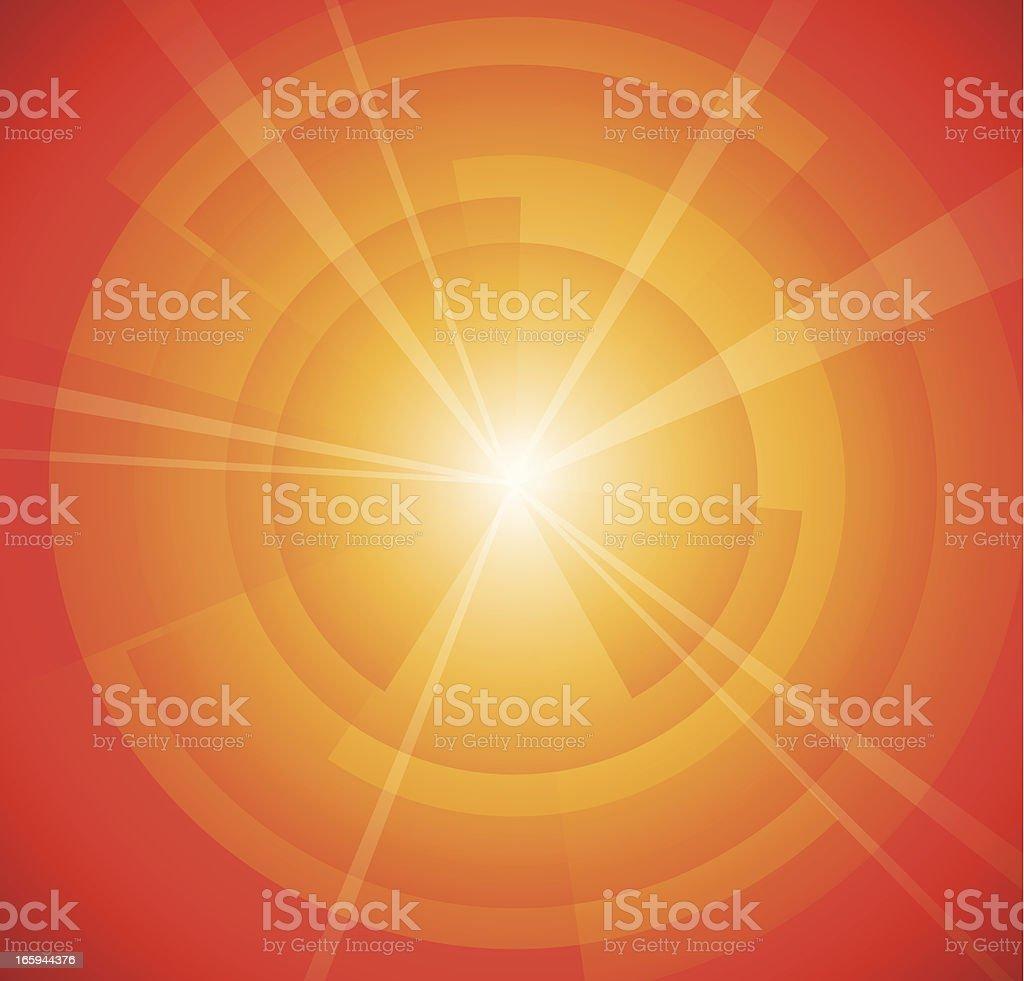 Red light spectrum ray royalty-free stock vector art