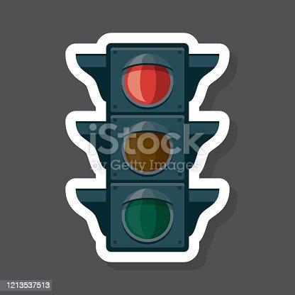 Traffic Lamp Vektor Ozgur Ai Svg Ve Eps