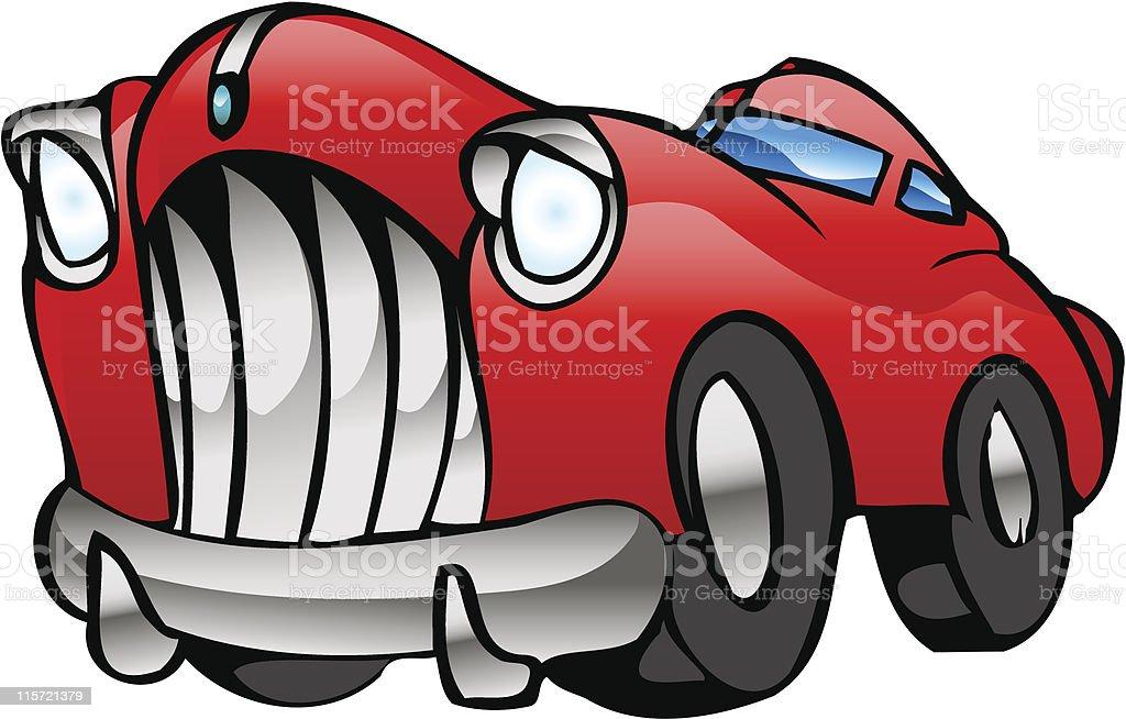 Rot Limousine – Vektorgrafik