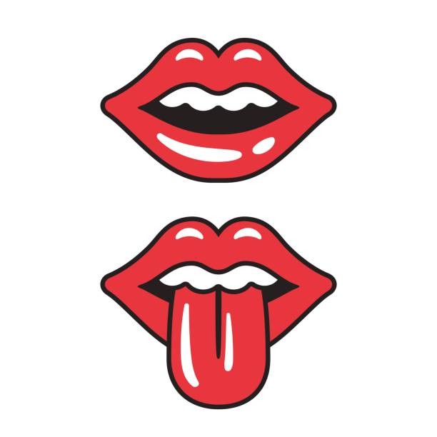 Best Tongue Illustrations, Royalty-Free Vector Graphics ...