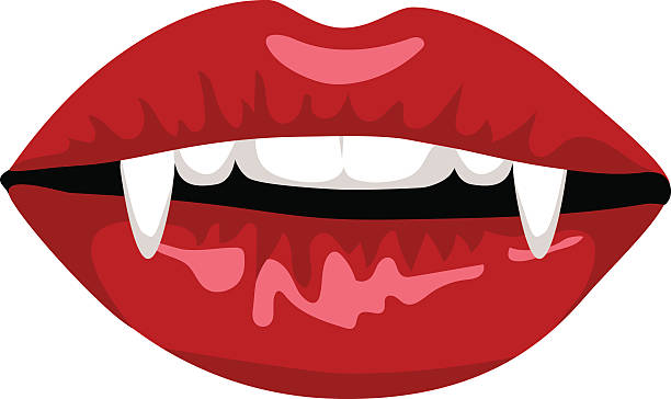 Top 60 Vampire Fangs Clip Art Vector Graphics And Illustrations