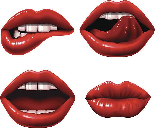 Rouge à lèvres - Illustration vectorielle