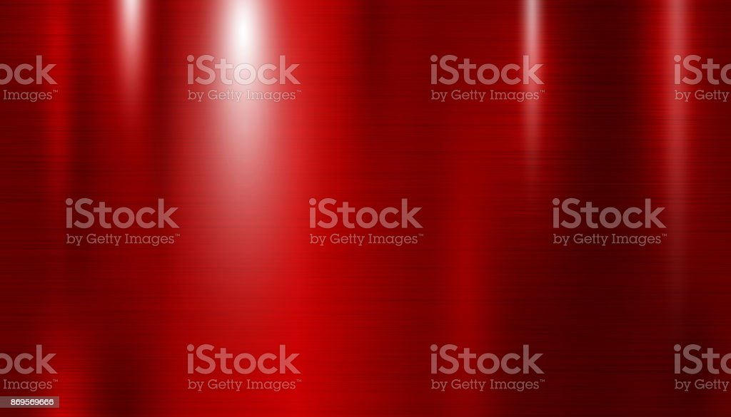 Rot Metall Textur-Hintergrund-Vektor-illustration – Vektorgrafik