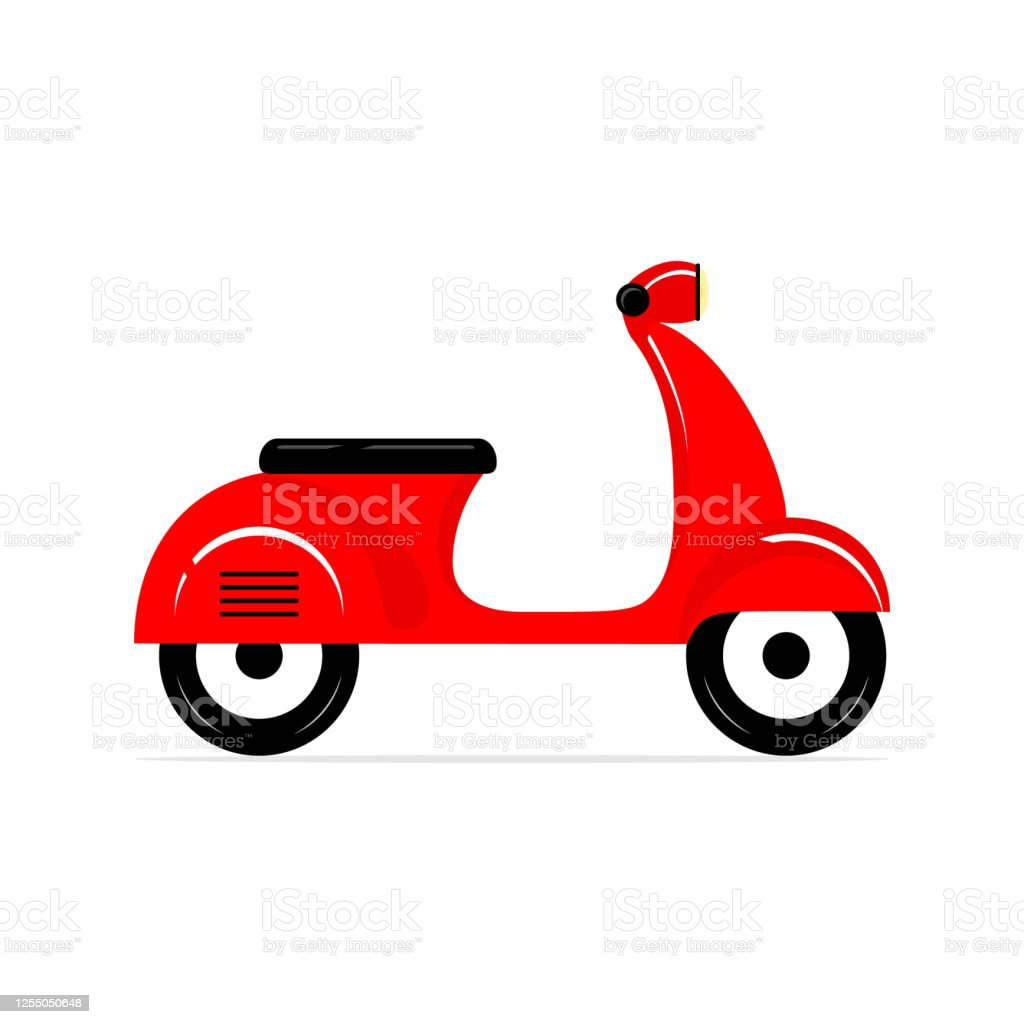 red motor bike vector cut delivery scooter stock illustration download image now istock red motor bike vector cut delivery scooter stock illustration download image now istock