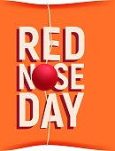 Red Nose Day card