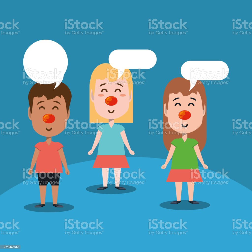 Red Nose Day Design Stock Illustration Download Image Now Istock