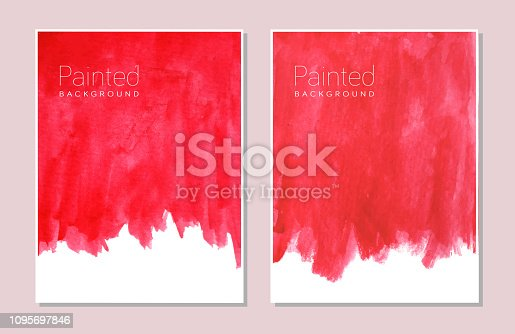 watercolor background textured design