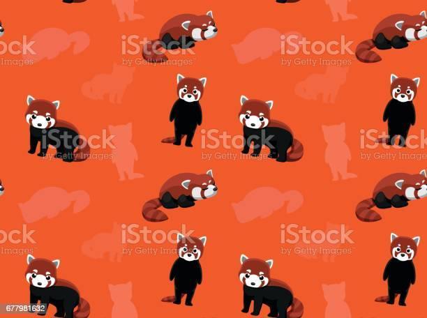 Red Panda Vector Art Graphics Freevectorcom