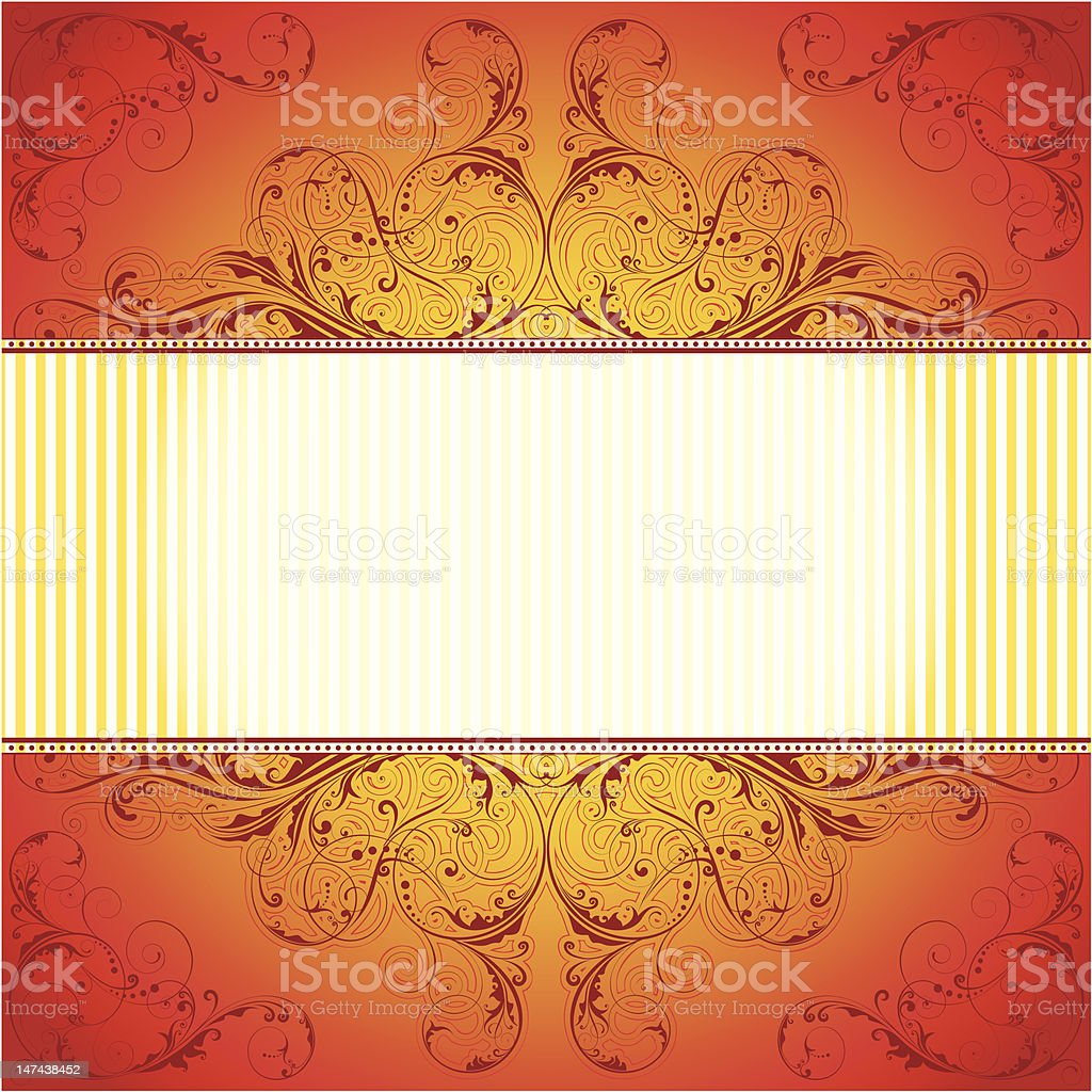 Red pattern background royalty-free stock vector art
