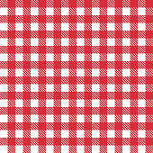 Red patterns tablecloths stylish a illustration design. Geometrical traditional ornament for fashion textile, cloth, backgrounds. Vector illustration.